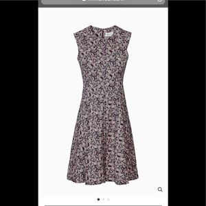 MM LaFleur Oxblood Milange Toi Dress Size 0